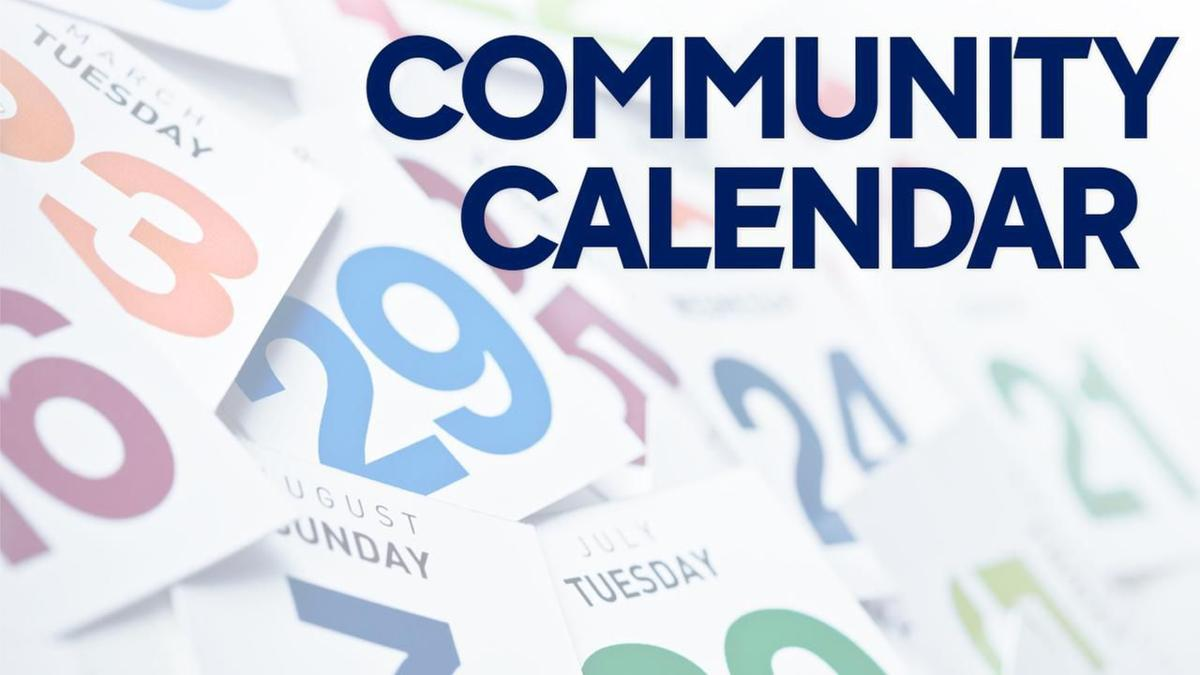 You are currently viewing Community Calendar