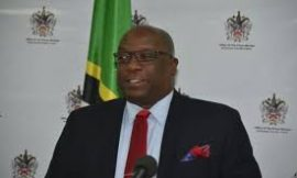 PM Harris and Switzerland's ambassador to St. Kitts & Nevis hold discussions