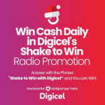 """About 100 persons in SKN benefitted from Digicel's """"Shake to Win"""" promotion, winners received over $50,000"""
