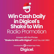 "About 100 persons in SKN benefitted from Digicel's ""Shake to Win"" promotion, winners received over $50,000"