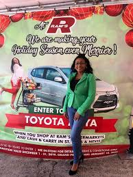 You are currently viewing Winner of RAMS Christmas Car Promotion is Ms. Tamiko Kelly