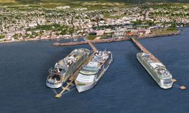 Gov. of SKN approves Two Royal Caribbean Vessels for docking at Port Zante