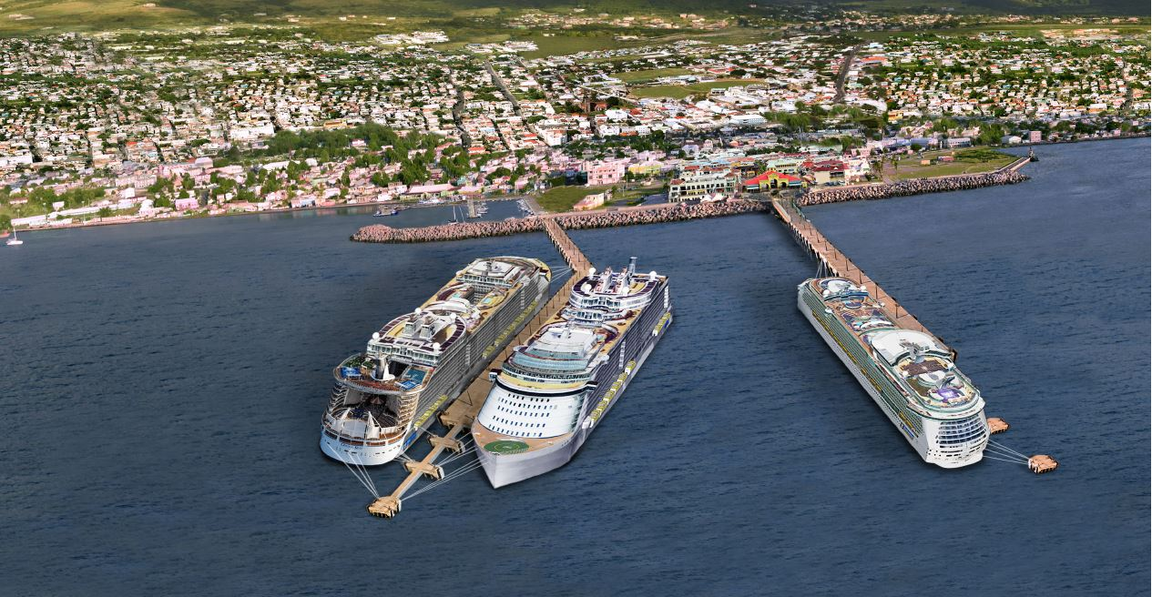 You are currently viewing Gov. of SKN approves Two Royal Caribbean Vessels for docking at Port Zante