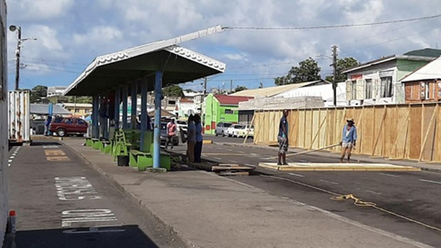 You are currently viewing Parking restricted for all private vehicles at the West Bus Terminal in St. Kitts