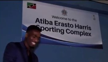 You are currently viewing Atiba Erasto Harris Sporting Complex unveiled in St. Kitts