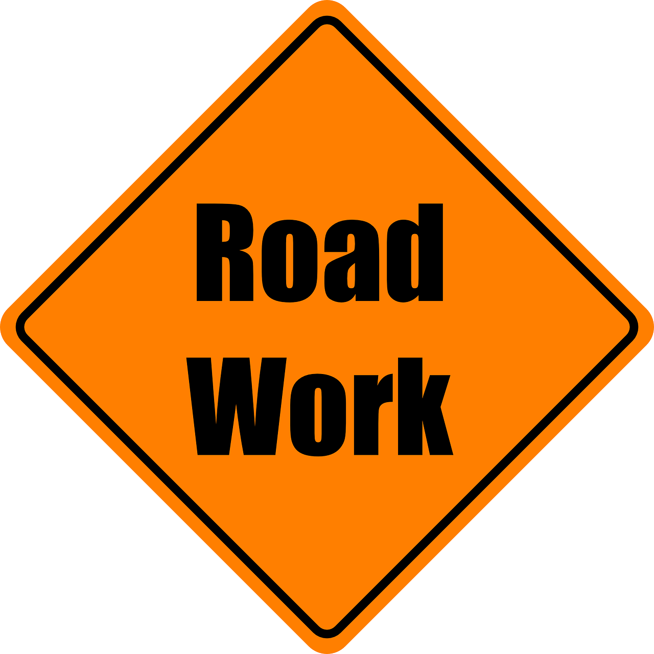 Minor Road works continue here on Nevis