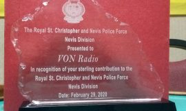 VON Radio receives award for sterling contribution to the Police Force