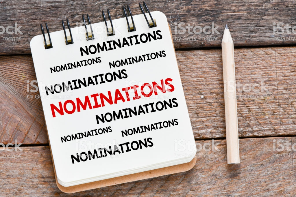 Nomination Day today Wednesday May 27th
