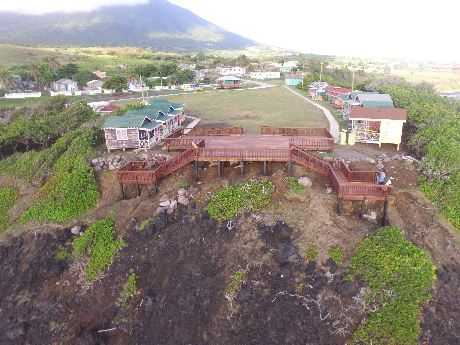 Black Rocks Deck Commissioned: PM Harris says site is being taken seriously