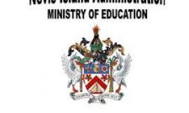 Early release Wednesdays to resume for Nevis' Preschools & Primary Schools