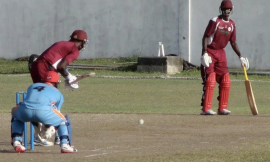 Cricket Practice Facility named in honour of former Nevisian batsman Livingstone Sargeant
