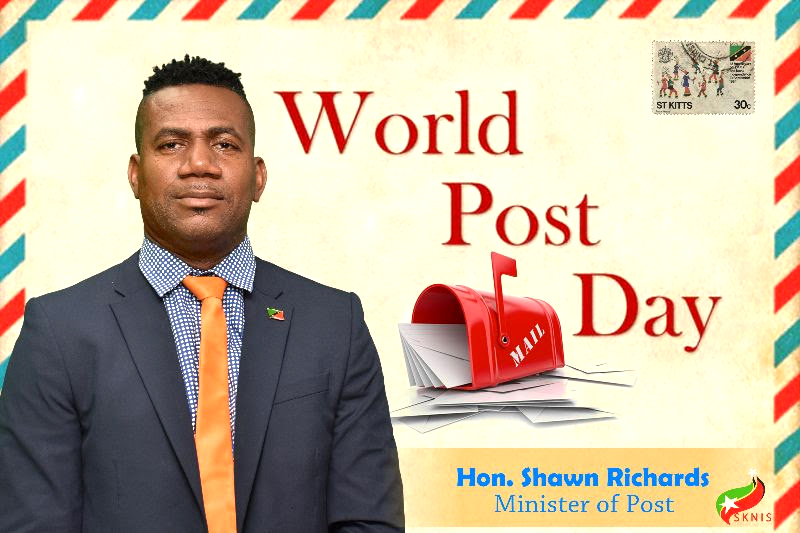 SKN joins the world in observance of World Post Day