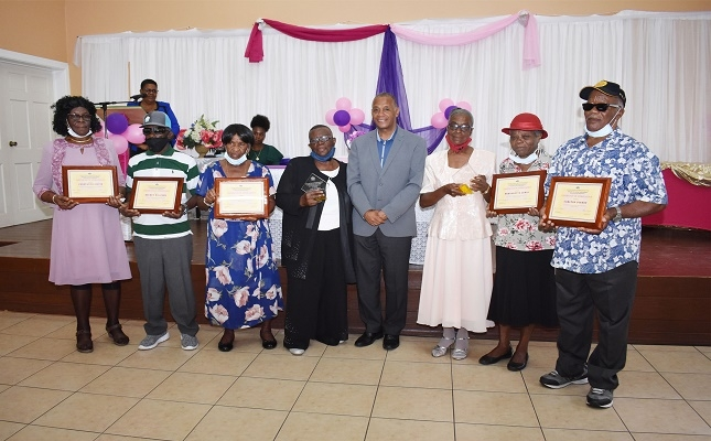Seniors and Caregivers Awarded for Senior's month