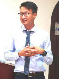 Taiwanese Expert on Non-Communicable Diseases at work in SKN