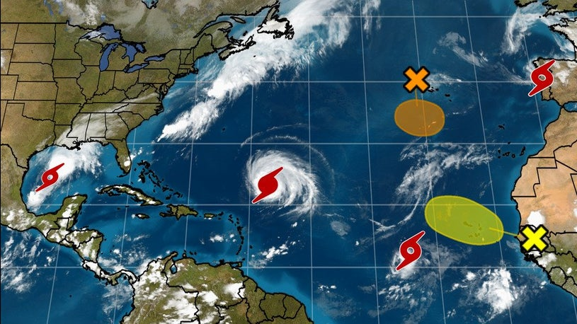 Mere days left until the end of a VERY active Hurricane Season