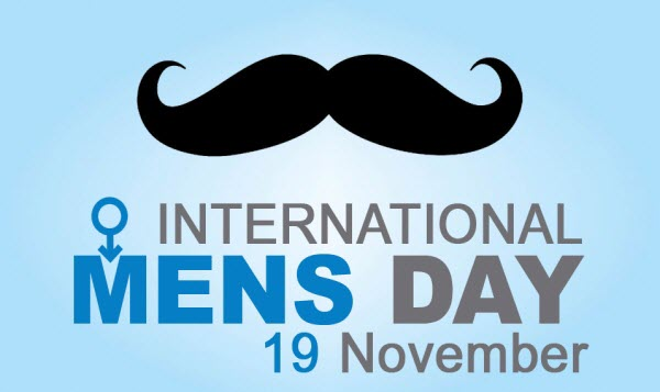 November 19th is International Men's Day