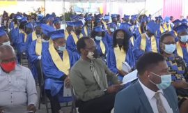 150 Students graduated from the Charlestown Secondary School