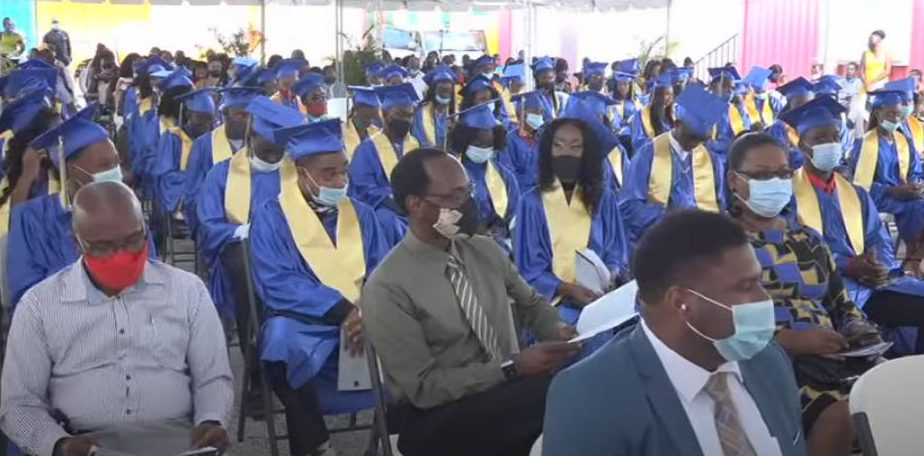 You are currently viewing 150 Students graduated from the Charlestown Secondary School