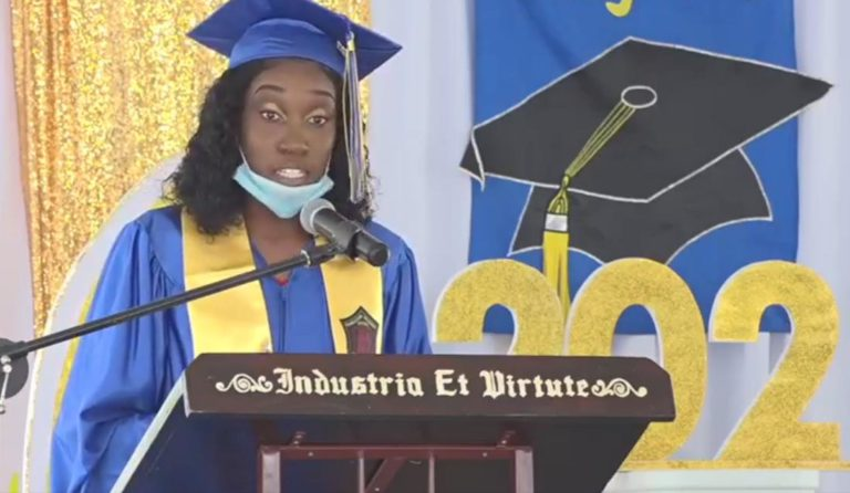 Ms. Donella Thompson, CSS Valedictorian of the Class of 2020