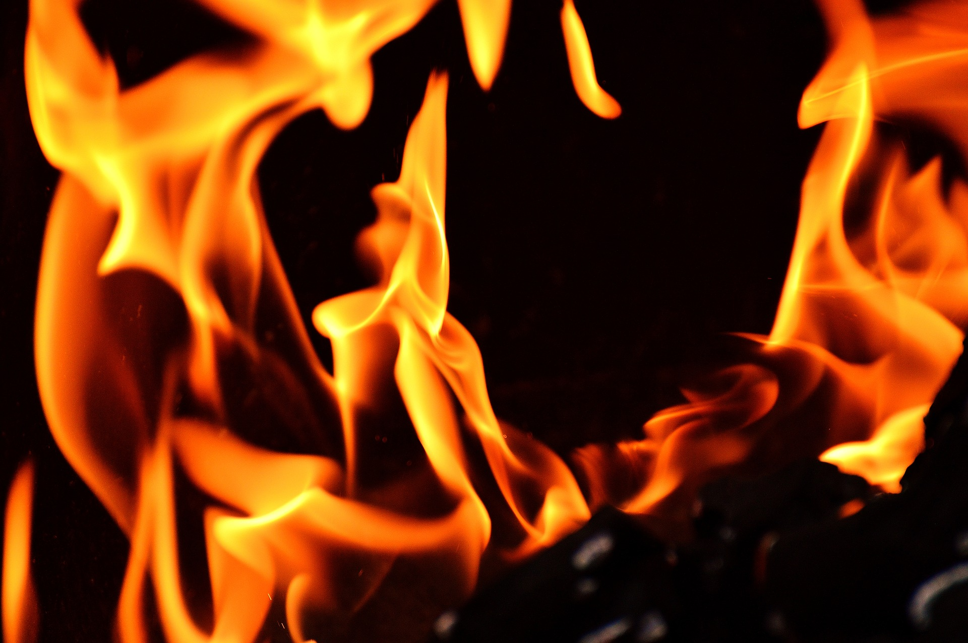 Vehicle engulfed in flames in Charlestown