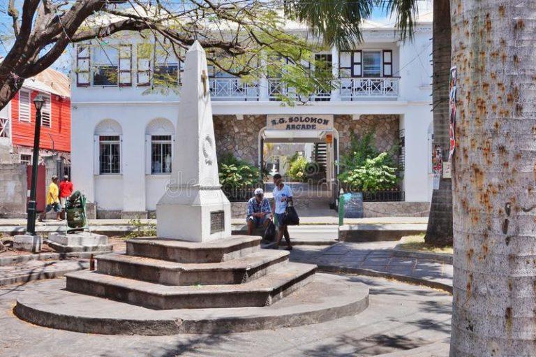 Nevis Water Department relocates to Solomon Arcadein Charlestown