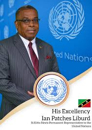 "Ian ""Patches"" Liburd is SKN's new Permanent Representative to the UN"