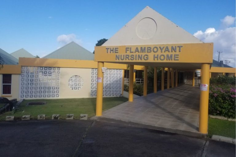 Flamboyant Nursing Home receives donation from Nevis Dental Clinic