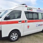 New Ambulance and passenger bus donated to the Federal Ministry of Health