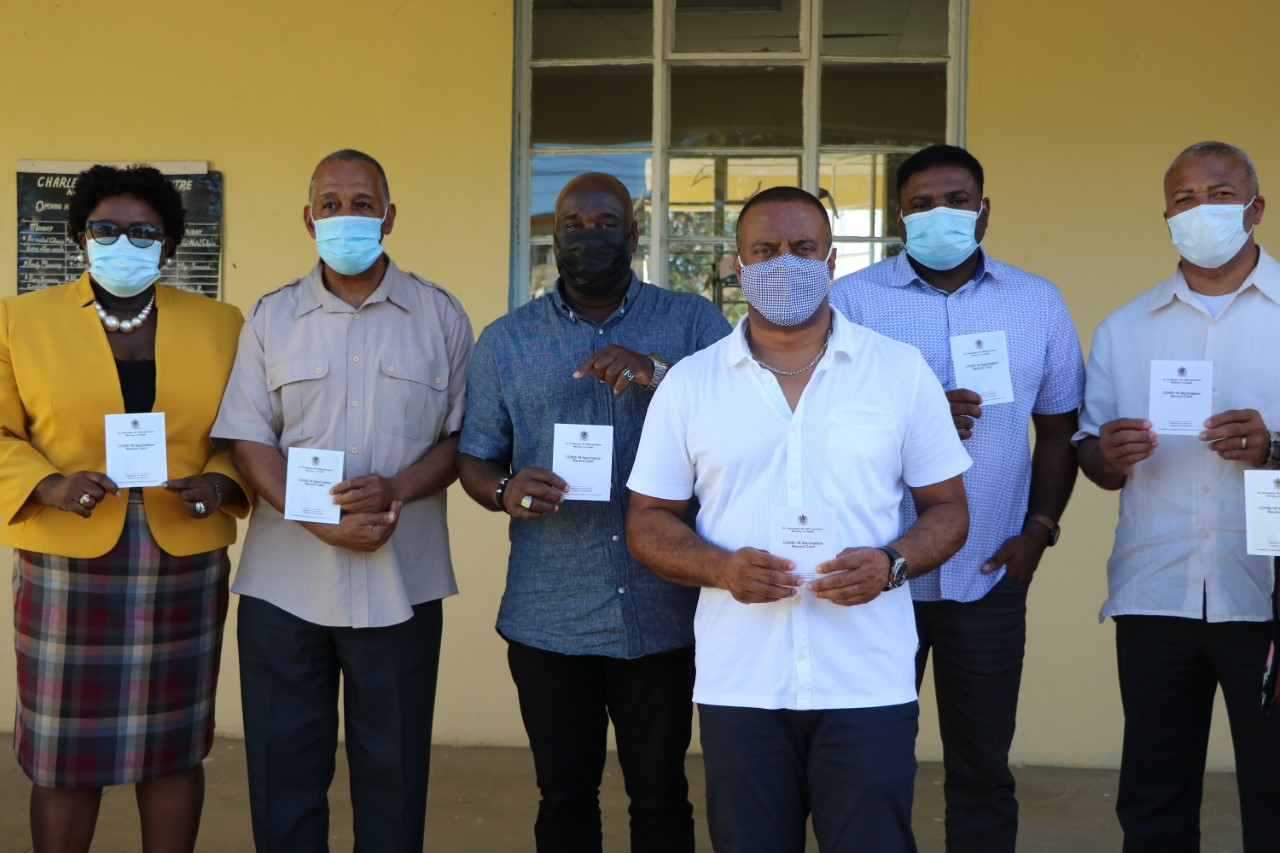 """Deputy Premier says """"sending right message"""" to Nevisians, following Covid-19 vaccine jab"""