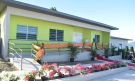 New Multipurpose Community Center for the Lodge/Ottley's Community officially opens