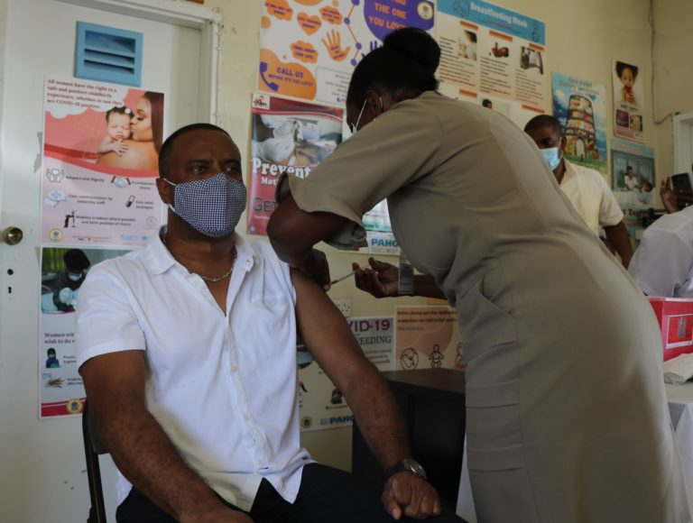 Nevis rolls out its' COVID-19 Vaccination program