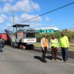 Island's Main Road Resurfacing work completed