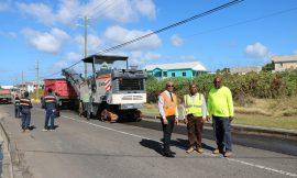 Island's Main Road Resurfacing work completed
