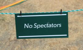 All Inter Team Sport matches will be Spectator-less