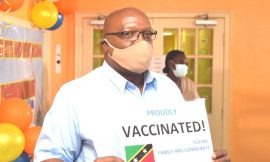COVID-19 Vaccination program launched here in SKN