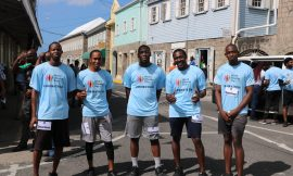 "Nevis' Department of IT wins ""Fun Run in the Sun"" Road Relay"