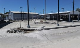Renovations underway at East Line Bus Terminal in St. Kitts