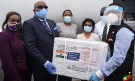 SKN receives 20,000 COVID-19 Vaccines from India