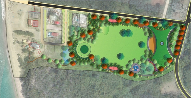 "Work at Pinney's Park ""52.7% completed"", target date remains at December 2021"