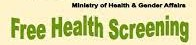 "ICDF & Nevis' Ministry of Health to host Health Screening at ""Agro Fest"""