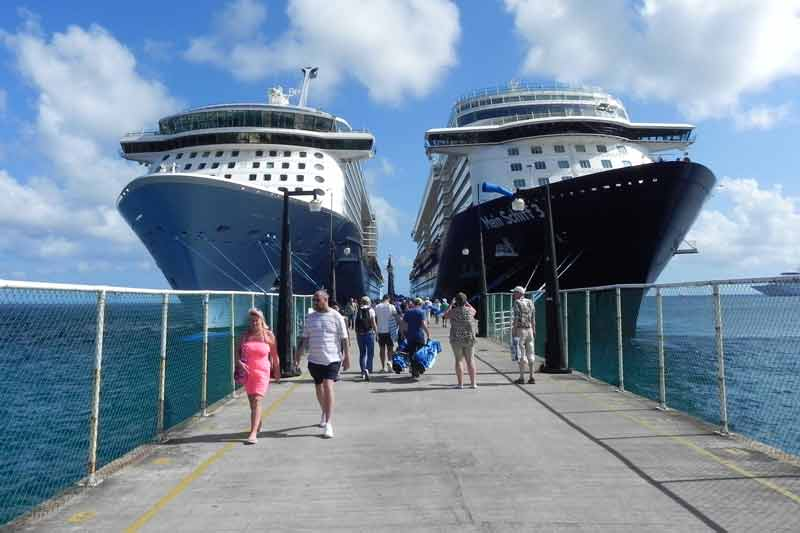 You are currently viewing Cruise lines may return by October 2021 if SKN reaches Herd Immunity