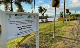 Consultant gives update on Nevis' Nelson Spring Rehabilitation Project here on Nevis