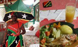 Nurses show gratitude to Rodney's Cuisine here on Nevis