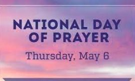 Interdenominational Day of Prayer slated for May 6th