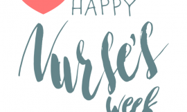 Nurses Week is being celebrated from May 10th to the 16th