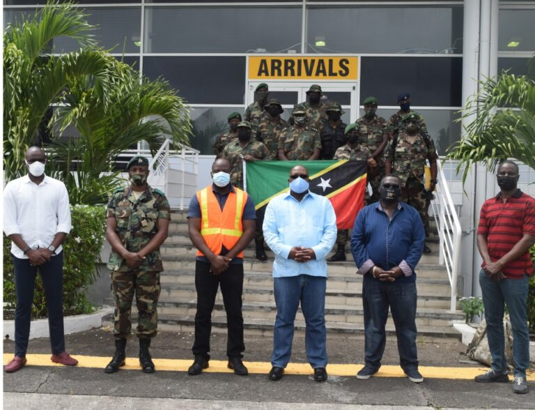 Read more about the article 10 member contingent comprising of law enforcement officers return from peace keeping mission in SVG