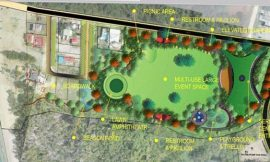 Pinney's Park project over 60 % complete