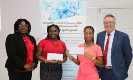 Dhakiya Liburd and Asher Walters-Hanley recipients of NIA/MUA Scholarships