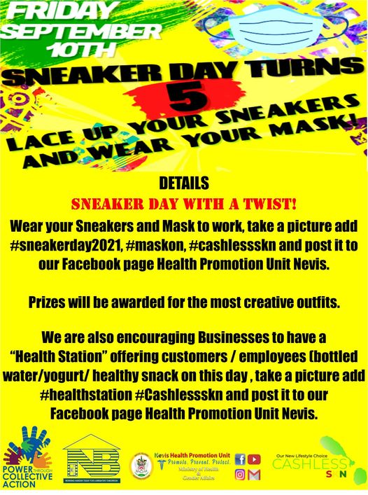 Read more about the article Sneaker Day slated for Sep. 10th as part of activities for CWD