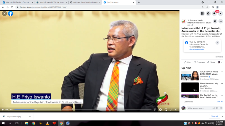 Read more about the article Indonesian Ambassador to SKN to resign